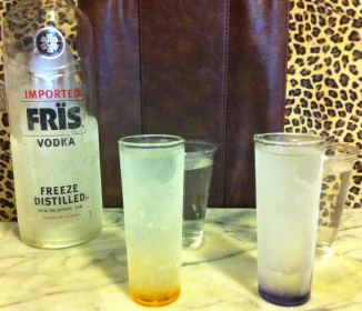 Frozen Vodka Drinks