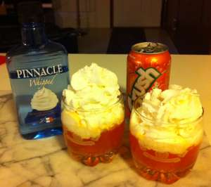 whipped cream vodka crush